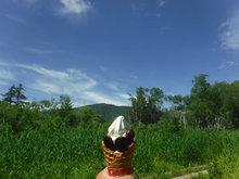 花豆トッピングアイス